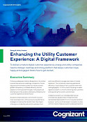 A Digital Framework to Enhance the Utility Customer Experience