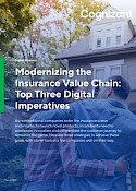 The Top 3 Digital Imperatives for Insurers