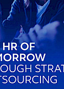 The HR of Tomorrow through Strategic Outsourcing